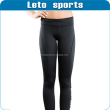 custom high quality black compression pant /compression tight /Girls Leggings