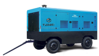 265kW 20m3/min diesel driven portable screw air compressor for mining