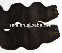 Wholesale 2# Black Body Wave Brazilian Body Wave Hair Brazilian Virgin Hair/Human Hair Extensions