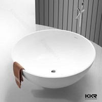120cm solid surface bathtub for old people and disabled people