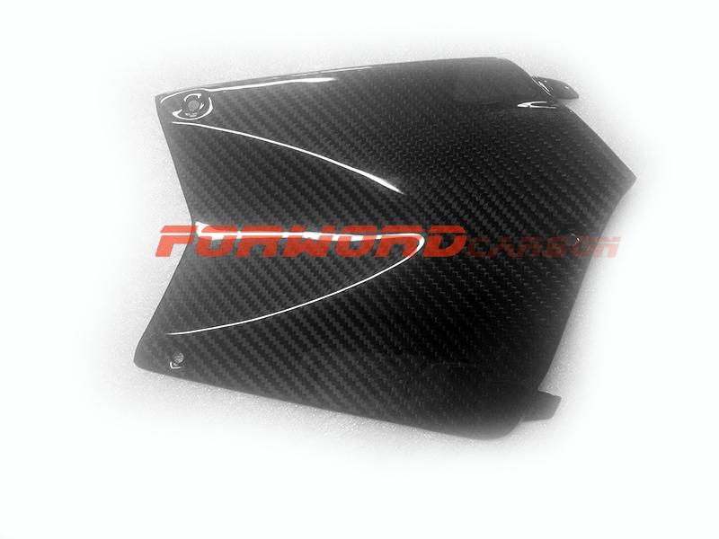 Quality carbon fiber motorcycle parts for BMW K1200R 1300R carbon fibre tank cover front