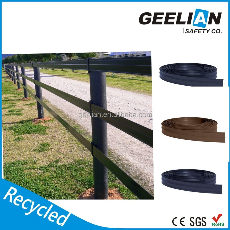 Solid recycled plastic deer fence post/used wooden fence panels for sale