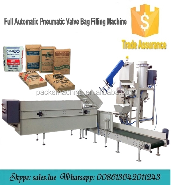 Valve Bag Cement Filling Machine with Low Maintenance