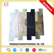 Decorative cheap natural exterior stacked wall stone tile