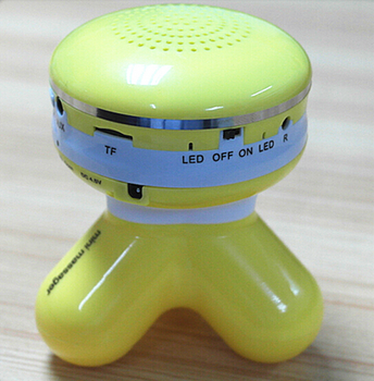 Made in China and good quality vibration massager body massager with bluetooth speaker
