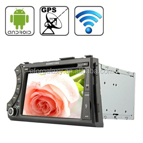 cheap 7.0 inch Android 4.2 Multi-Touch Capacitive Screen In-Dash Car DVD Player for Ssangyong