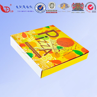Creative figure design, color pizza box, professional custom