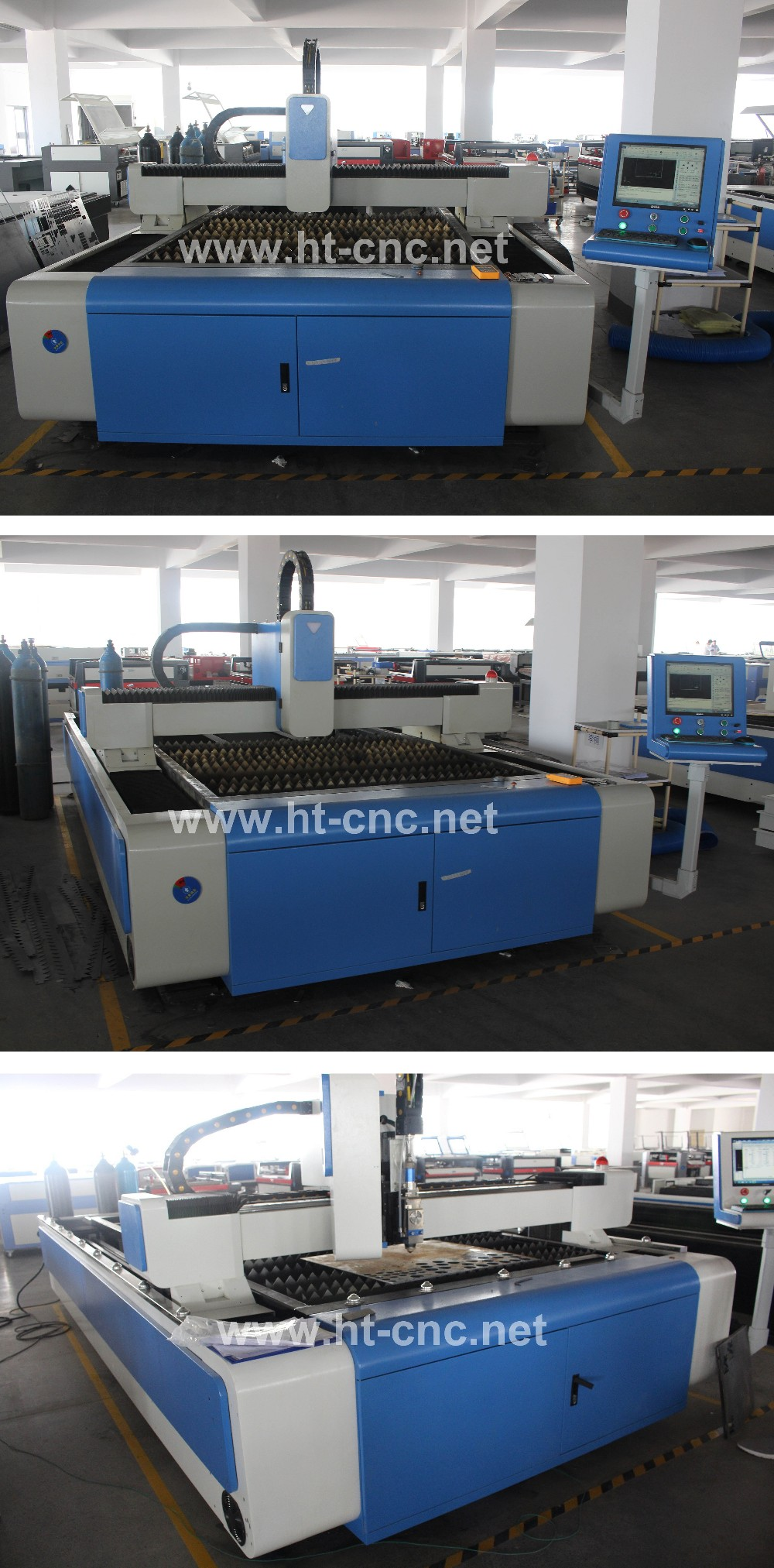 Best parts 500W/750W1000W 1530 fiber laser cutting machine for stainless steel