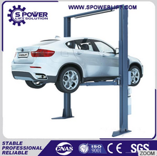 Hydraulic washing car lift for car wash