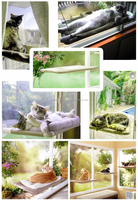 Wholesale Best Price Small Sunny Seat Window Mounted Cat Bed PT162