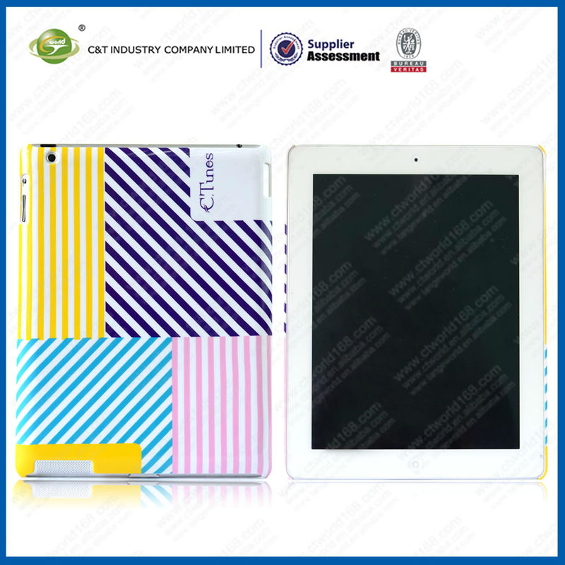 Plastic For Ipad Case With Smart Cover, for ipad case,case for Apple iPad mini accessory