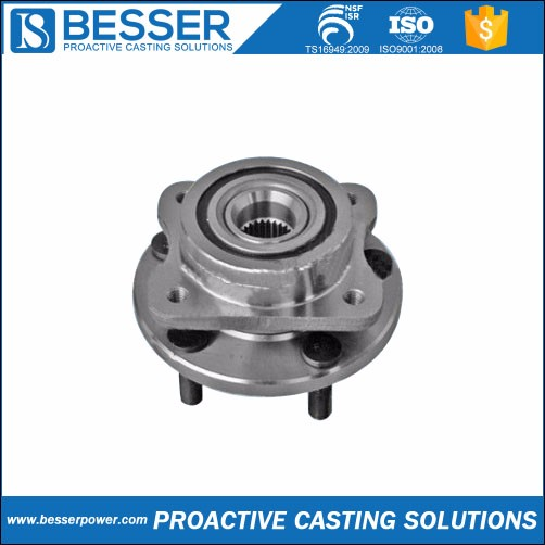 6Cr13 stainless steel 15# steel 4340 cast steel silicone investment casting wheel hub bearing for dodge caliber supplier
