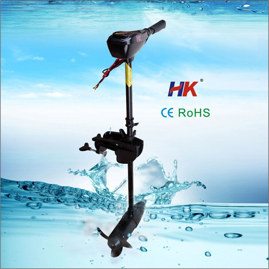 Electric trolling kayak motor for fishing