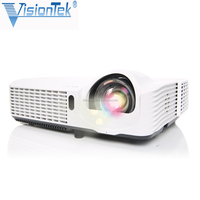 Classroom Visiontek VS-267 ultra short throw projector For school interactive whiteboard use 3d projector