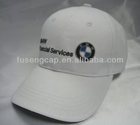 BMW Customized 6 panel Fashional White baseball Cap