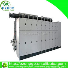 1KG~10KG corona discharge ozone generator for color removal / ozone generator waste water treatment