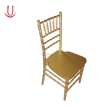 UC-CC68 Catering Gold Chiavari Chair With Cushion