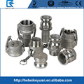 Precision casting high quality camlock fittings Stainless Steel pipe coupling