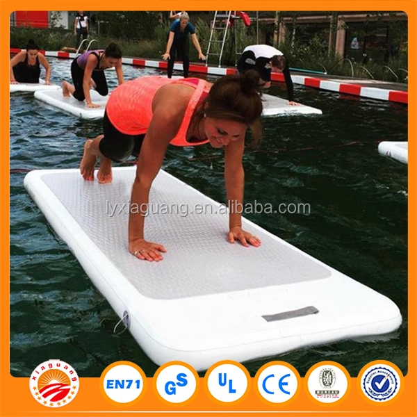 inflatable water floating mat sup yoga board