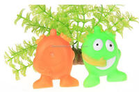 green color pet toys