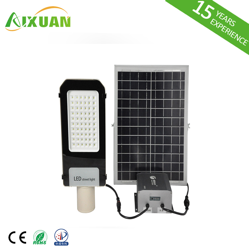 Guangdong Outdoor Lighting 6500K 100w SMD Intergrated 100 Watt Solar LED Street Light