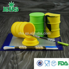 Professional silicone bho container for Concentrate non stick silicone jars dab wax vaporizer bho container