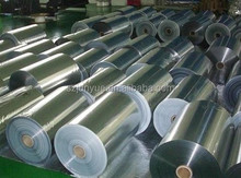 Aluminum foil rolls for laminating insulation materials