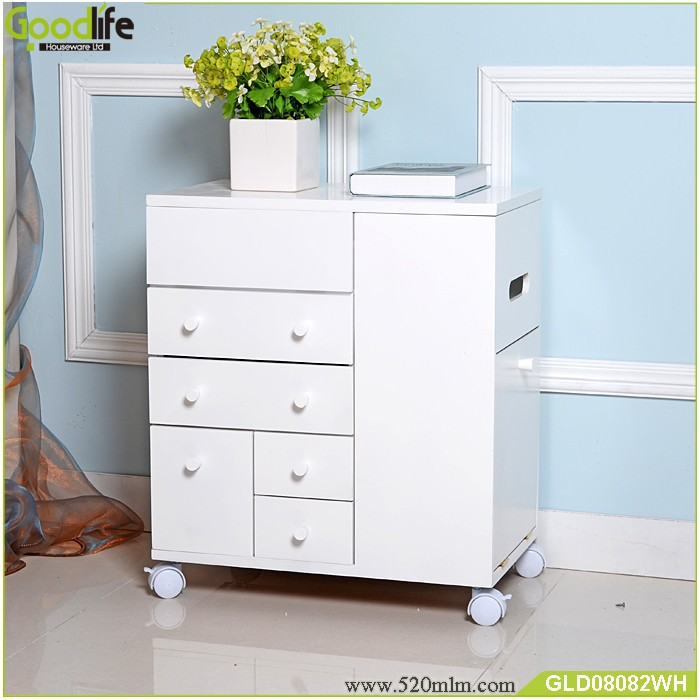 New Arrival Goodlife Wooden Makeup Storage Cabinet View