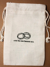 wholesale china factory supplier high quality cotton muslin rings bag custom printed muslin bags