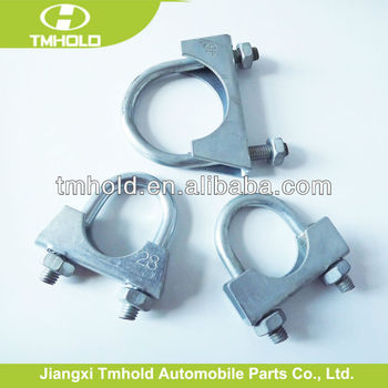 "3/8"" u type carbon steel muffler hose clamp"