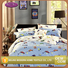 100% cotton king size duvet cover sets reactive printed cheap Russian bed linen