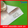 Polyester fabric banner PVC flex banner coated backlit banner ads materials