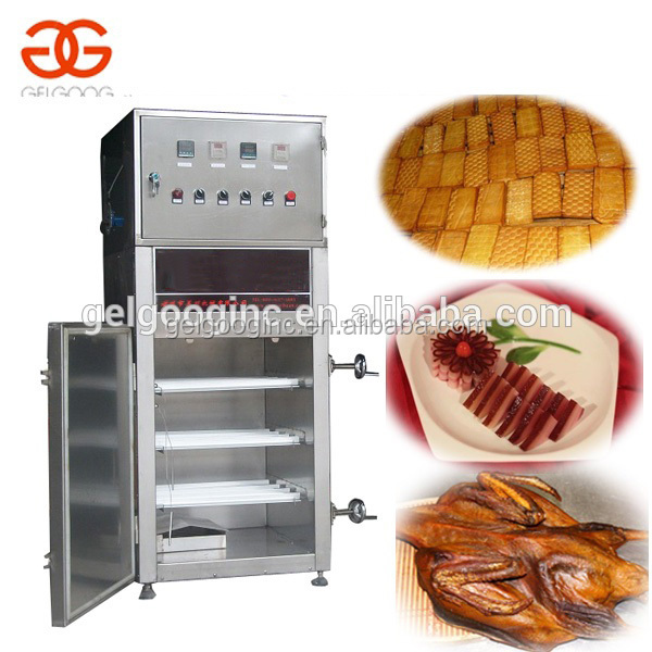 Industrial Commercial Electric Chicken Smoking Machine Smoked Fish Kiln Meat Food Oven Equipment Sausage Smokehouse for Sale