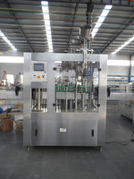500-800BPH beer washing/filling/capping monoblock machine for glass bottle