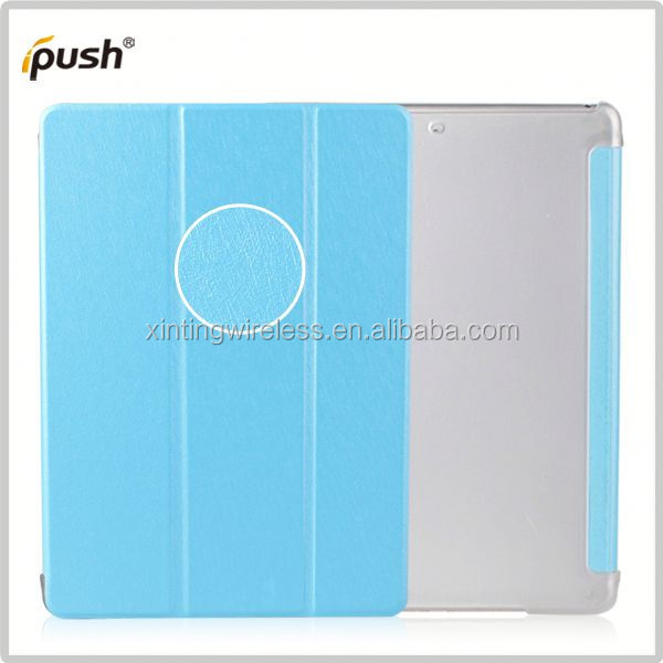 2014 new design pu leather case for ipad air protective case for ipad air