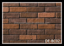 High quality Mixed color finish wall decorative bricks outdoor