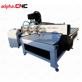 220V 380V 415V Multi Spindle Cnc Aluminum Carving Router