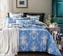 KOSMOS- 100% cotton printed royal luxury bedding made in nantong