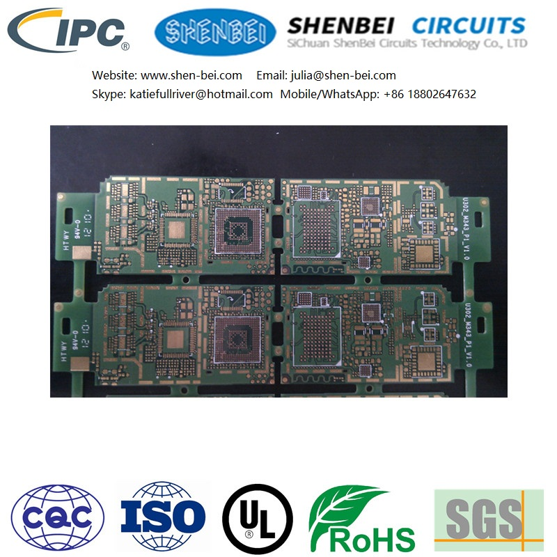 PCB for scientific instrument, the ministry of information industry, communication and electronic