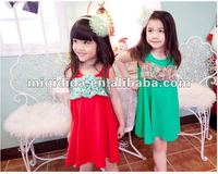 2012 new design beautiful and lovely children's summer dress