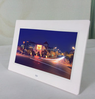 10.1 Inch LCD pictures frame black hot digital frame with customer logo