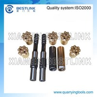 mining equipment parts drill bit for rock drilling for South America market