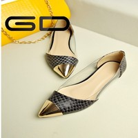 New Women Casual Pointed Toe Loafers Flats Ballet Flat Shoes