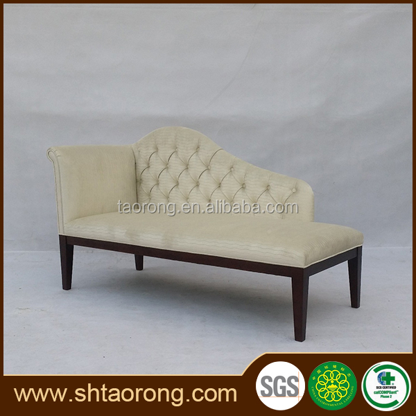 NO MOQ modern white luxury fabric living room sofa bed