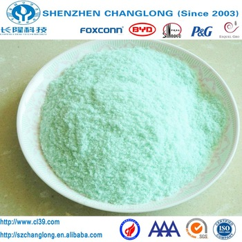 Reduced iron food additive ferrous sulfate