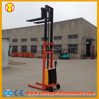 Hot Sale Small Heavy Duty 1 Ton Chinese Electric Forklift Truck