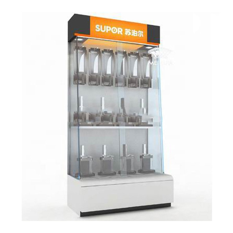 Custom Retail Store Pos Kitchen Product Display Cabinet Knife Display Stand Kitchenware Display Showcase Buy Kitchen Product Display Cabinet Knife