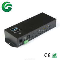 rgb 3CH rgbw 4CH dmx512 led controller,digital display,easy operation for led lights