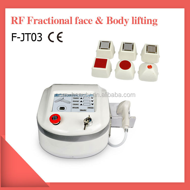 professional anti aging wrinkle removal fractional RF beauty equipment with the lowest price in China
