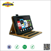 New Design Premium Tablet Leather Cover for amazon Kindle fire HD 7